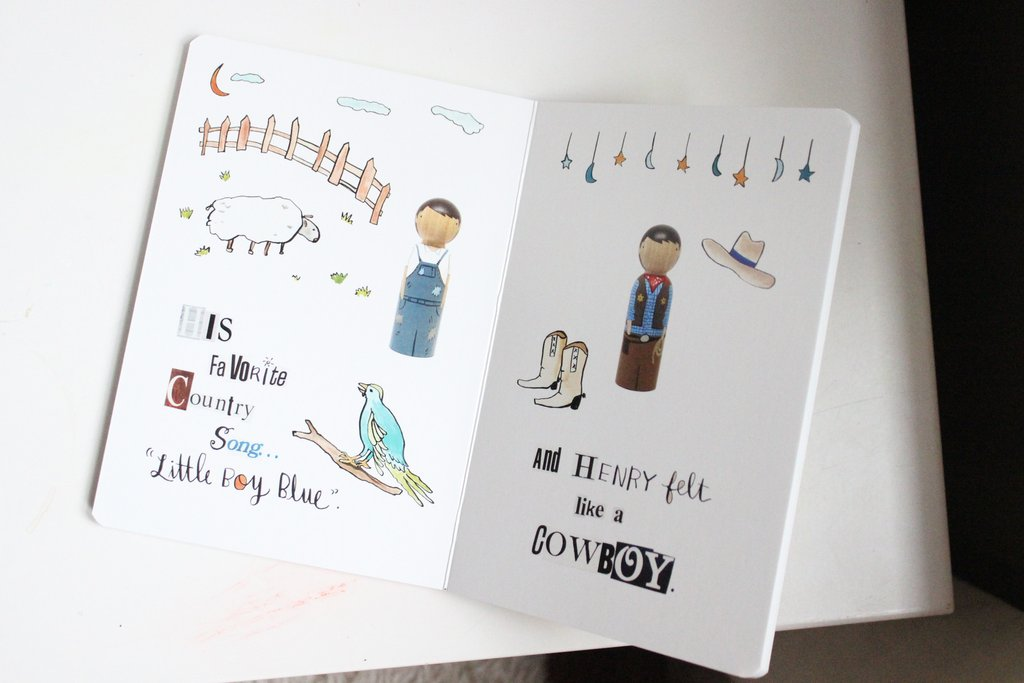 (Not So) Blank Henry Board Book