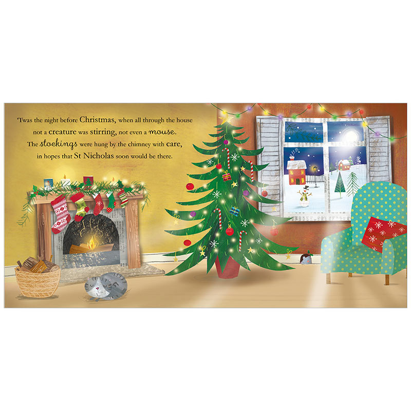 Twas the Night Before Christmas - Mini PB. Click to enlarge image - Fire The Imagination