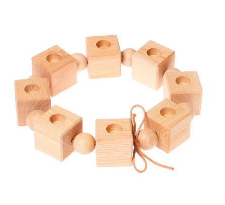 Deco - Birthday Cubes, natural