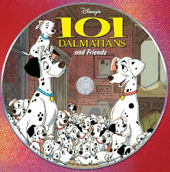 101 Dalmatians Cartoon Wallpaper