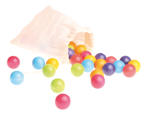 Marbles in a Small Bag 35 pcs