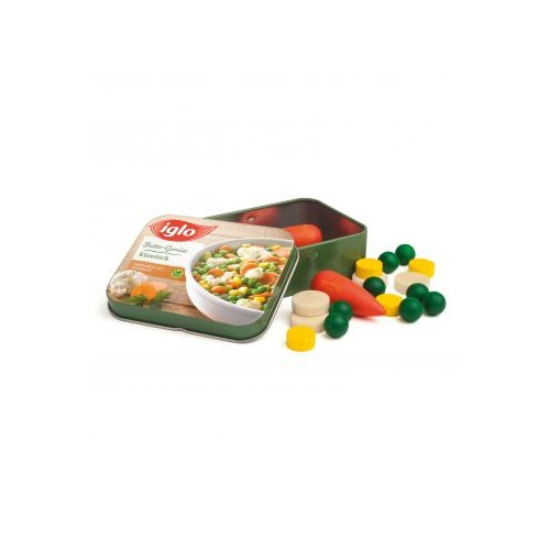 Mixed Vegetables in a Tin