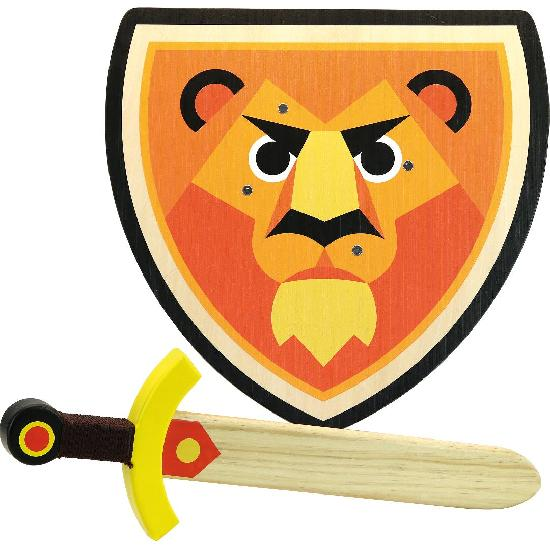 Shield and Sword, Lion