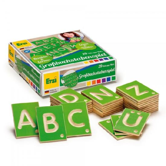 Wood - Educational Game Capital Letters