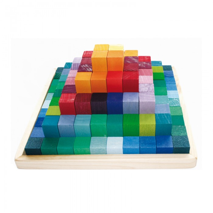 Learning - Stepped Pyramid,  4 cm Thick