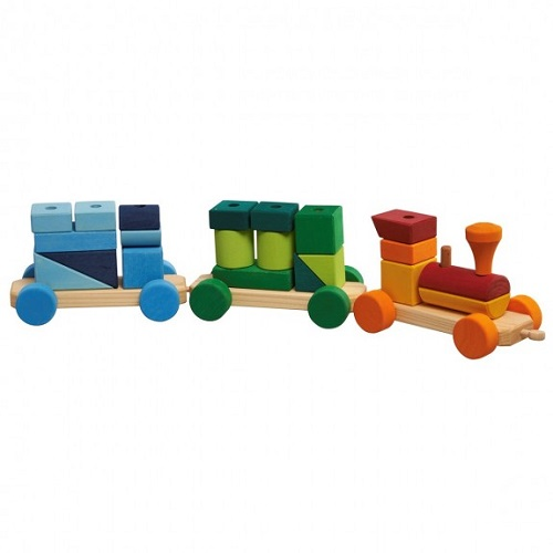 Colourful Shapes Train