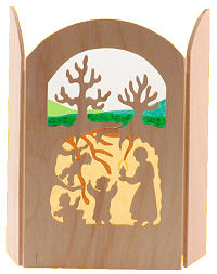 Ornament - Silhouette Root Children