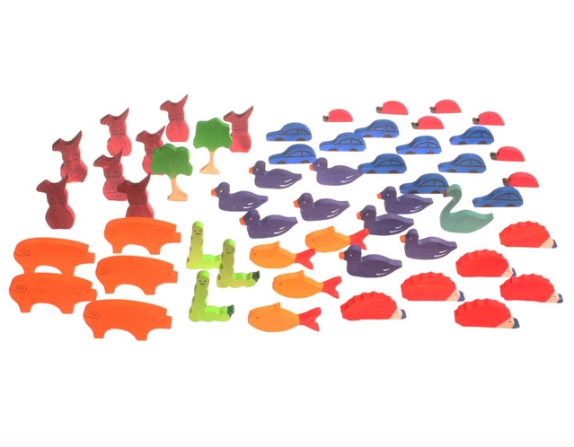 55 Colourful Figures for Counting and Storytelling SPECIAL ORDER ITEM