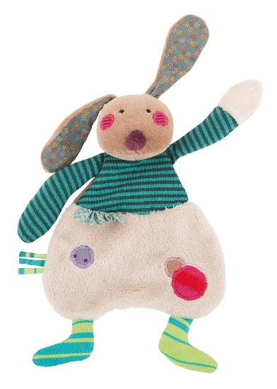 Moulin Roty - Rabbit cuddle toy (23 cm) WHILE QTY LAST