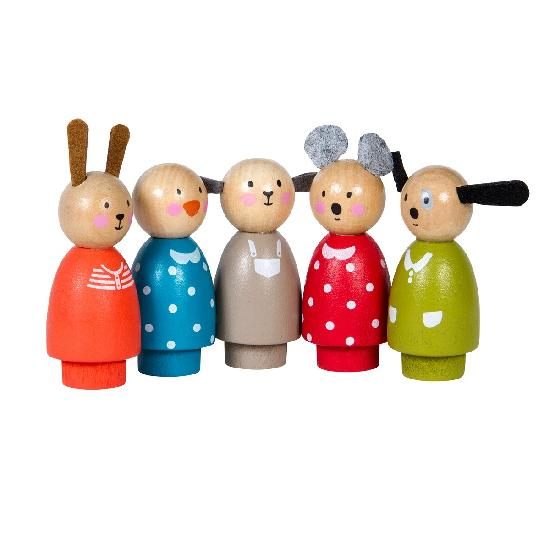 Grande Famille - play - characters (set of 5)