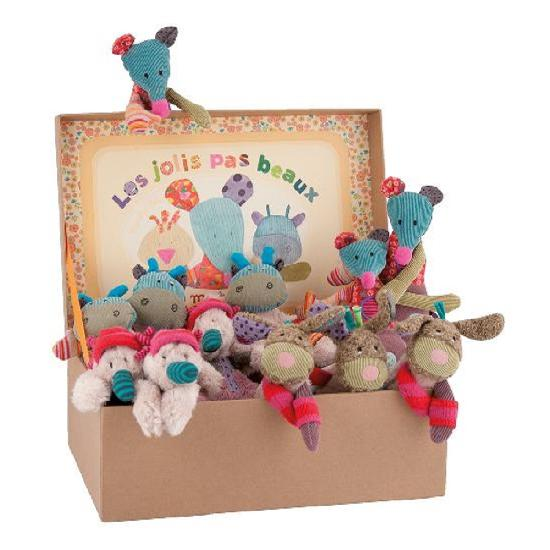 Moulin Roty - 12 Assortment of soft toys WHILE QTY LAST