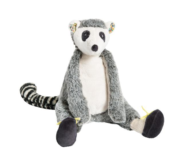 Roty Moulin Bazar - Maki Lemur soft toy (33 cm)