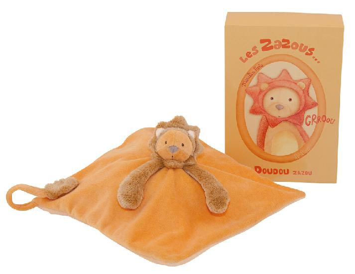Moulin Roty - Zazous lion cuddle toy (26 cm) (WHILE QTY LAST)