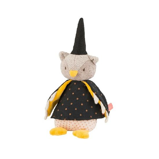Moulin Roty - Il Etait une Fois owl magician doll, mini (WHILE QTY LAST)