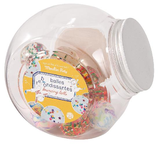 Aujourd hui cest mercredi - Bouncy Balls in Jar (48 Assorted)