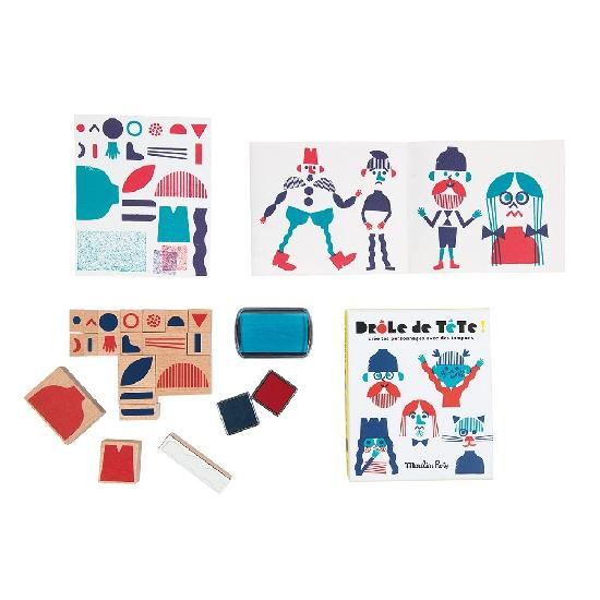 Bambins - ink stamps (set of 20)