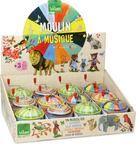 Nathalie Lete Music boxes (12 assorted)