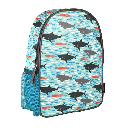 Sharks Eco-Friendly Little Kid Backpack NEW LARGER DESIGN