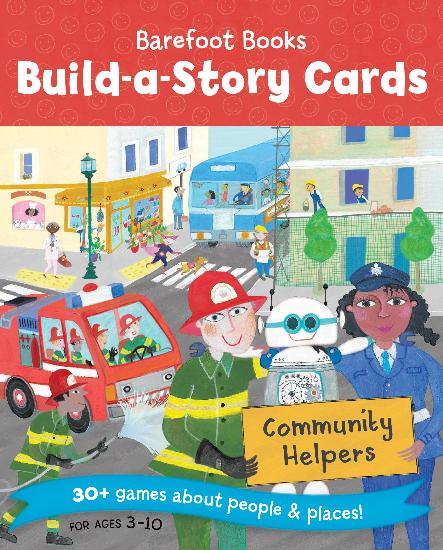 Build-A-Story Cards: Community Helper   DUE APRIL