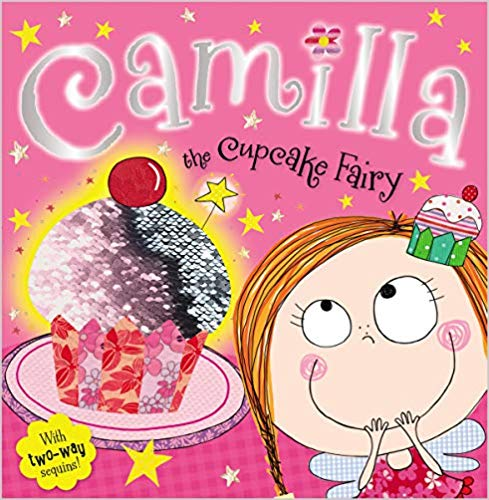 MBI - Camilla the Cupcake Fairy - PB with Sequin Cover (WHILE QTY LAST)