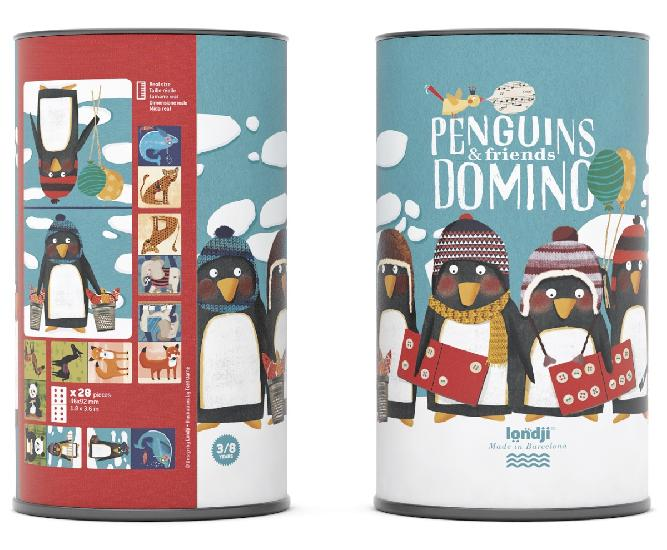 Domino - Penguins & Friends