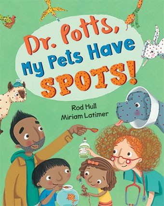 Barefoot - Dr. Potts, My Pets have Spots! HC (WHILE QTY LAST)