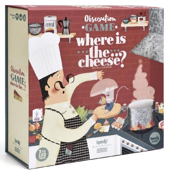 Game - Where is the Cheese?