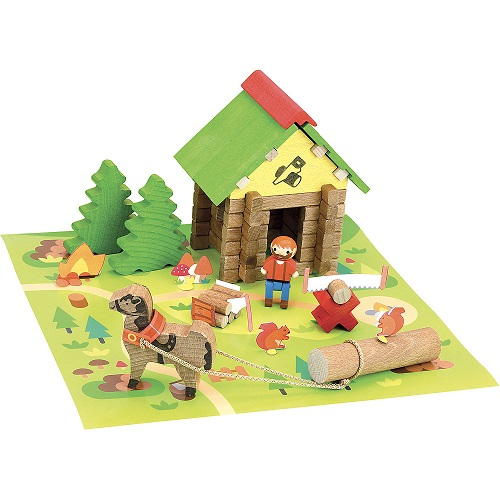 Play - Lumberjack's House 50 pcs