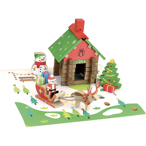 Play - Santa Claus House 50 pcs