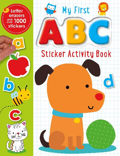 My First ABC Sticker Activity Book - PB