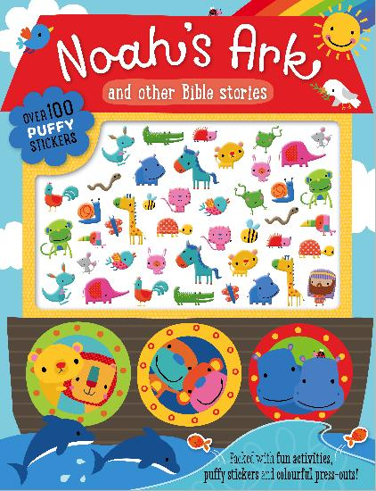 MBI - Noah's Ark and Other Bible Stories - PB w/Puffy Stickers (WHILE QTY LAST)