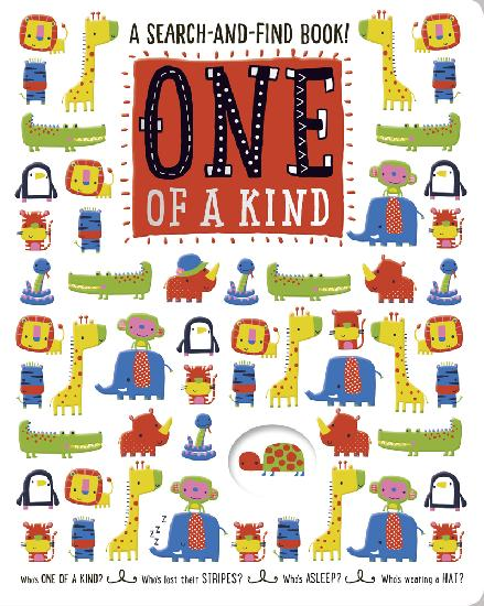 A Search-and-Find Book: One of a Kind - BB