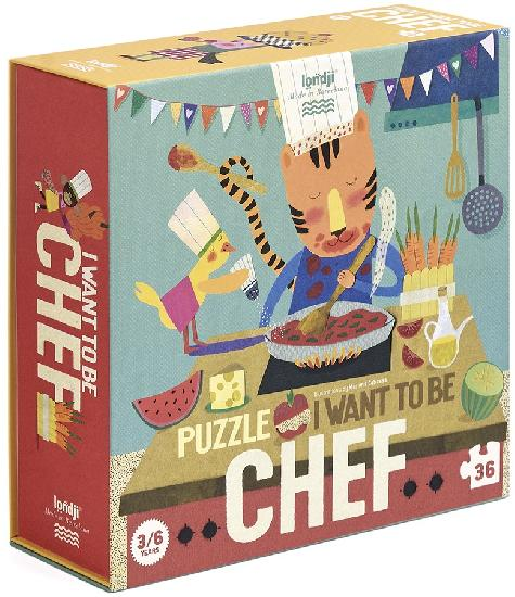 Puzzle - I Want To Be Chef