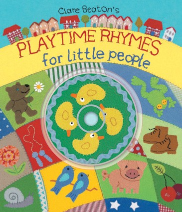 Playtime Rhymes For Little People - HC w/CD