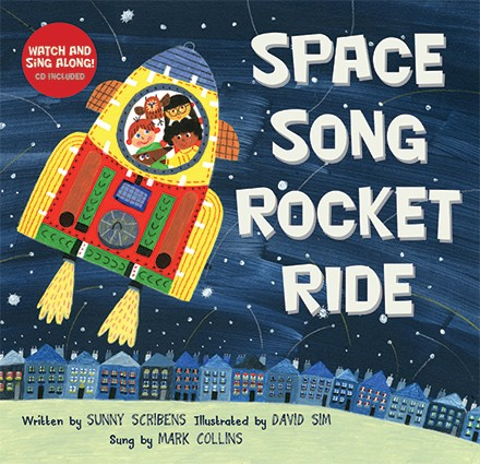 Space Song Rocket Ride - PB w/CD