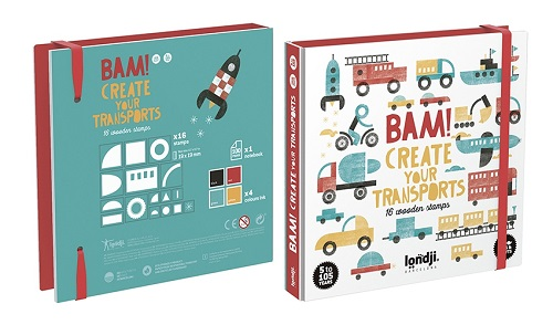 Stamps - Bam! Transports
