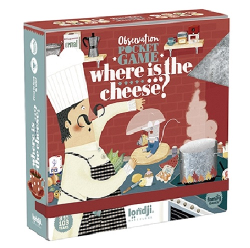 Pocket Game - Where is the Cheese?