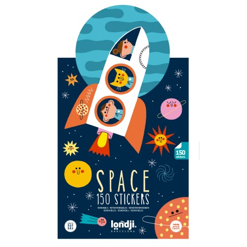 Sticker Activity Set - Space