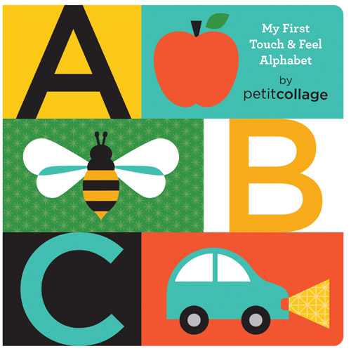 ABC My First Touch & Feel Alphabet Board Book