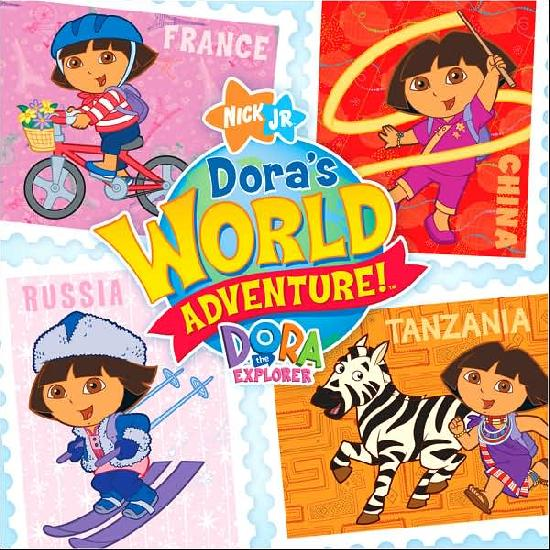 Various Artists - Dora The Explorer: Dora's World Adventure