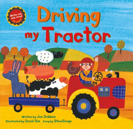 Driving My Tractor - PB w/CD