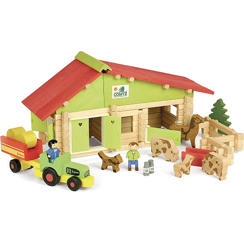 Farm With Tractor 140 pcs