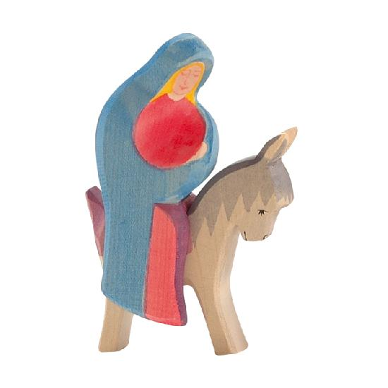 Nativity - Mary On Donkey ( 2 pcs)