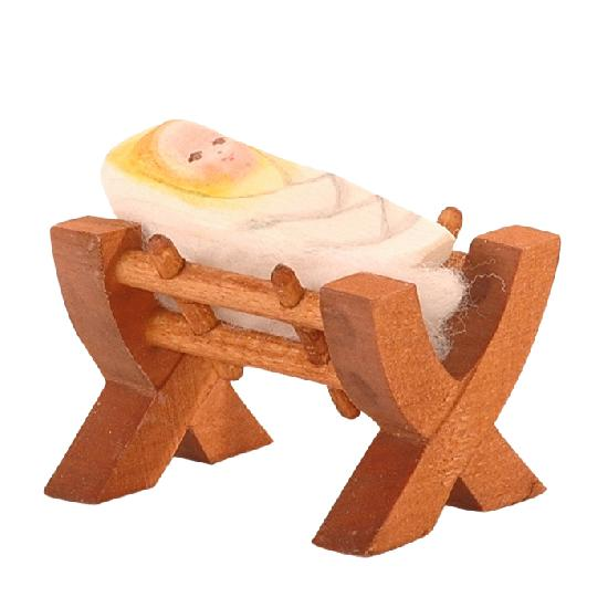 Nativity - Crib With Child II (2 pcs)