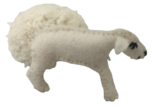 Animals - Sheep With Removeable Coats 6pcs