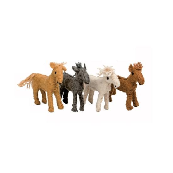 Animals - Barn Horses 4pcs