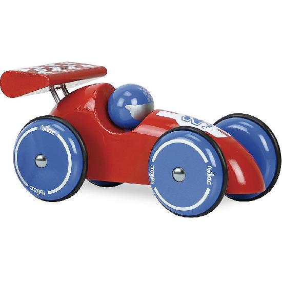 Vehicle - Racing Car, Extra Large Red-Blue