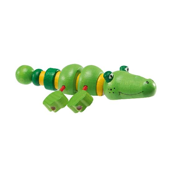 Walter - grasping toy crocodile