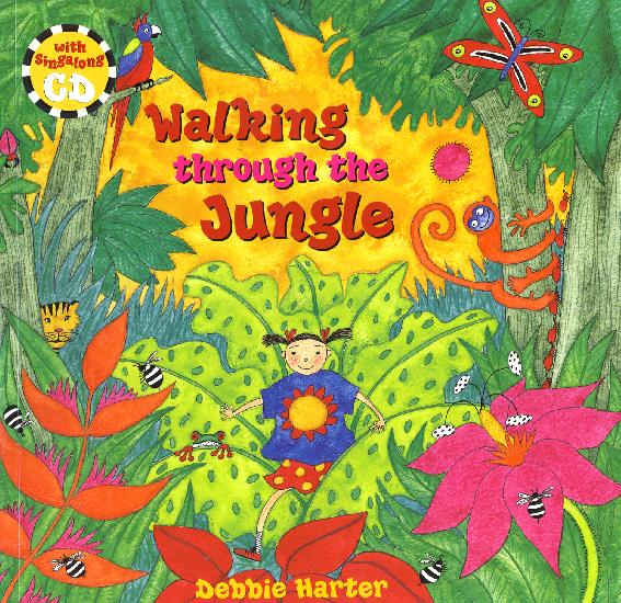 Walking through the Jungle - PB w/CD