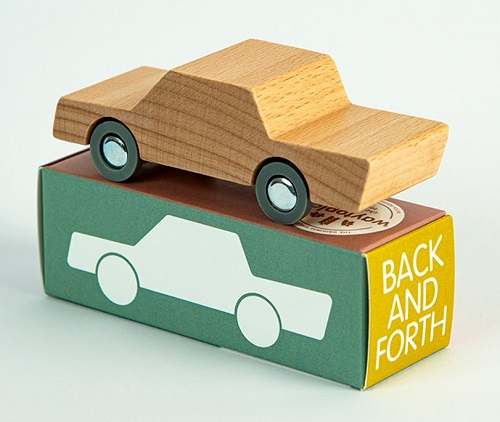 waytoplay - Back and Forth Car - Natural